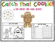 FREEBIE!  Catch that Cookie!  Emergent Reader