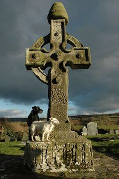 Ahenny High Cross, Ireland. The Celtic cross, also known as the Irish high cross, can be found in Ireland, Wales and Scotland.