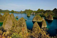 Wayag, at Rajaampat Papua ~ Indonesia#Repin By:Pinterest++ for iPad#