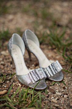 17739277b90e Silver Shoe Glitz  ) Silver Wedding Shoes
