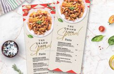 Buy Restaurant Menu by BigWeek on GraphicRiver. Restaurant Food and Drinks Menu Template Size: mm) with 3 mm bleed Tabloid with bleed Half . Italy Restaurant, Pizza Restaurant, Restaurant Recipes, Food Menu, Food Food, Website Menu Design, Small Restaurant Design, Clean Recipes, Healthy Recipes
