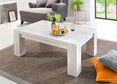Dieser wunderschöne Couchtisch im Landhausstil, aus FSC®-zertifizierter Wildeiche. Dank seiner schlichten Gestaltung lässt er sich wunderbar in diverse Wohnstile integrieren. In natur, gekälkt und dunkel gebürstet erhältlich. Alle Maße sind ca.-Maße. Selbstmontage mit Aufbauanleitung.   Details:  4 cm starke Tischplatte/, FSC®-zertifiziertes Massivholz, In verschiedenen Größen, In verschiedenen...