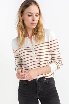Annie Striped Knit – Lily Striped Knit, Annie, Jumper, March, Lily, Boutique, Knitting, Long Sleeve, How To Wear
