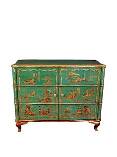 70% OFF Oriental Danny Decorated Cabinet