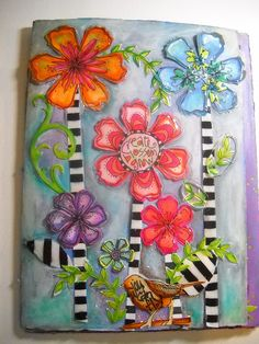 Art by Joanne Sharpe Create Blossom Grow - Connecting Art & Soul at Kaleidoscope Village