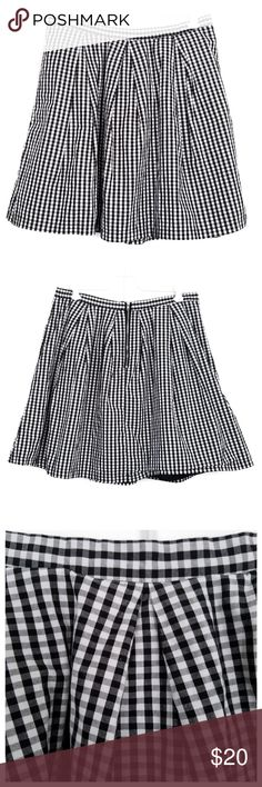 58166e965 Forever 21 Pleated Gingham Skirt - Size 30 I'd love to accept your offer