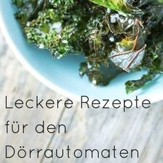 Dörrautomat Rezepte: Vielseitig, gesund und lecker A dehydrator can dry more than just fruit. This practical kitchen appliance impresses with its versatility. Discover our automatic dehydrator recipes Zucchini Chips, Dehydrator Recipes, How To Make Shorts, Different Recipes, Clean Eating, Food Porn, Food And Drink, Veggies, Tasty
