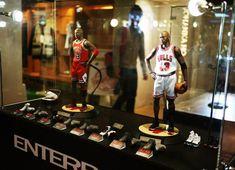 Michael Jordan Figurines by Enterbay Showcase