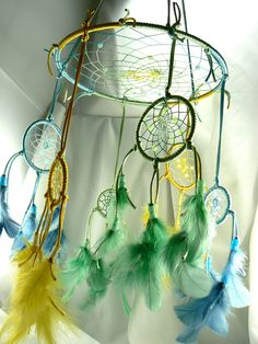 Dream Catcher Mobile por Winchestergems en Etsy