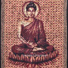 Buddha Tapestry Wall Hangings wall art tibet om orange bedsheets hanging tapestrygogoapants