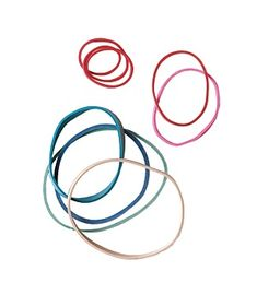 Rubber band uses