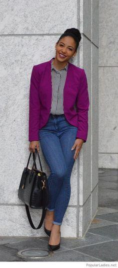 c197d9526fd8 12 Best Purple Blazers images | Man fashion, Classy style, Men dress