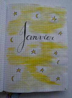 Janvier dans le Bullet Journal | Arte' Miss