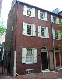 Philadelphia History - classic red brick - historical buildings - Questers!