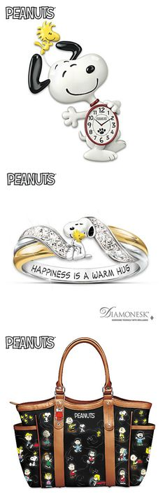 Send some joy to a special Peanuts fan in your life with collectible Snoopy gifts ranging from handbags, shoes, jewelry and figurines. Start shopping via CollectPeanuts.com.