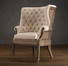 Deconstructed collection from Restoration Hardware...love.