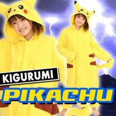 Japan Sazac Original Kigurumi Pajamas Halloween Costumes Nintendo Pokemon  Pikachu  Amazon.com  Clothing a49d4a1f5abc