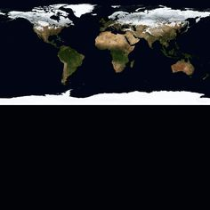 The Earth's Seasons. #imgur