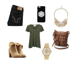 Untitled #84 by laurarohr on Polyvore featuring polyvore, fashion, style, American Vintage, Hollister Co., UGG Australia, Mudd, Michael Kors, Sole Society and clothing
