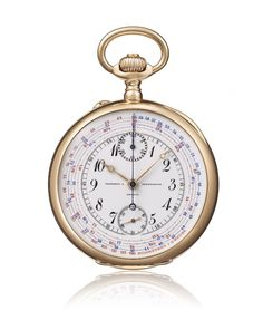 bf419b26b7526 1905 Vacheron Constantin chronograph chronometer Old Pocket Watches