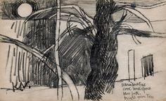Sketch Art, Art Drawings Sketches, Glasgow School Of Art, Mark Making, Sketchbooks, Landscape Art, Branches, Printmaking, Still Life