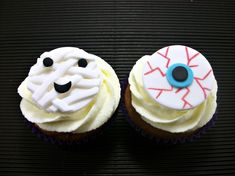 Halloween Cupcake Topper,Cake Edible Fondant Topper,Party Decor, Scary Eye Mummy Toppers, Spooky Monster Birthday Party Decor - set 12 by LenasCakes on Etsy https://www.etsy.com/listing/160773844/halloween-cupcake-toppercake-edible