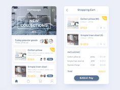 Ecommerce by kihoo #Design Popular #Dribbble #shots