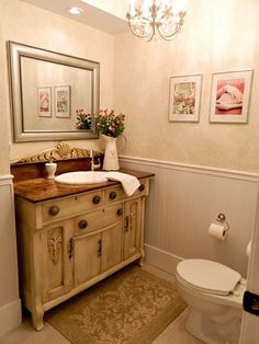 Bathroom Powder Room Design, Pictures, Remodel, Decor and Ideas - page 57