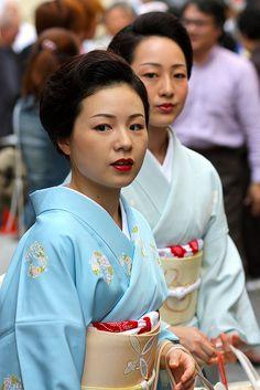 geisha-licious: Kimono with obi. Japan