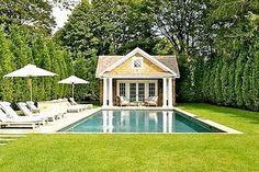 Pool House. LOVE THIS POOL!
