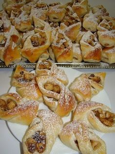Bread Recipes, Cookie Recipes, Dessert Recipes, Hungarian Recipes, Hungarian Food, Sweet Cookies, Bread And Pastries, Bread Rolls, Love Is Sweet