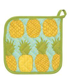 Pineapples Potholder