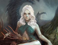 """Check out new work on my @Behance portfolio: """"Mother of Dragons"""" http://be.net/gallery/35169885/Mother-of-Dragons"""