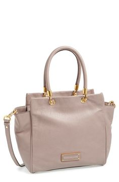 MARC BY MARC JACOBS 'Too Hot to Handle - Bentley' Leather Tote available at #Nordstrom// love the style - size is too large and would like in black