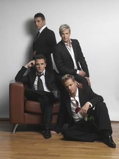 Nicky Byrne, Kian Egan, Mark Feehily and Shane Filan of Westlife