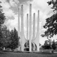 Jan Kempenaers documents Soviet-era war memorials in black and white photo series