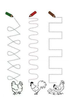 Crafts,Actvities and Worksheets for Preschool,Toddler and Kindergarten.Lots of worksheets and coloring pages. 1st Grade Worksheets, Handwriting Worksheets, Tracing Worksheets, Kindergarten Worksheets, Worksheets For Kids, In Kindergarten, Educational Activities, Preschool Activities, Preschool Writing
