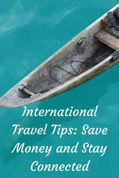 International Travel Tip: Learn how to Stay connected and save money using an International Data SIM card from Always Online Wireless.