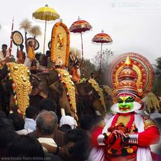 Enjoy Kerala Heritage & Cultural Tour with family or friends http://www.kerala-tours-online.com/  #Kerala #Heritage #culture #Color