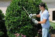- The two-handed safety operation and tip protector with hanging slot make it safe and perfect for all your lawn trimming needs. Used Equipment, Outdoor Power Equipment, Cordless Tools, Hedges, Slot, Lawn, Two By Two, Safety, Tips