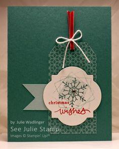 See Julie Stamp - Julie Wadlinger, Stampin' Up! Demonstrator : Card Set: Endless Wishes