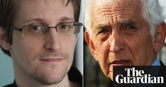 'Is whistleblowing worth prison or a life in exile?': Edward Snowden talks to Daniel Ellsberg Edward Snowden, Steven Spielberg, Modern History, Pentagon, Prison, Two By Two, Film, World, Civilization
