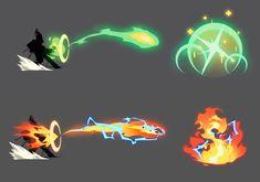 ArtStation - Stylized FX Concepts, Kenny Kong Magic Drawing, Desenhos Cartoon Network, Elemental Magic, Magic Design, Digital Painting Tutorials, Weapon Concept Art, Magic Art, Art Reference Poses, Character Design Inspiration