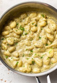 Shrimp Gnocchi Recipe, Baked Gnocchi, Gnocchi Recipes, Pork Recipes, Wine Recipes, Vegetarian Recipes, Cooking Recipes, Fall Recipes, Yummy Recipes