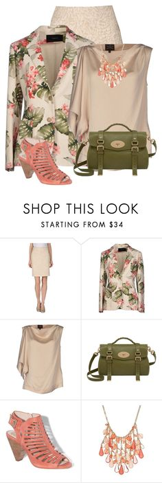 """Tropical Floral Blazer"" by dkelley-0711 ❤ liked on Polyvore featuring Tonello, Vivienne Westwood Anglomania, Mulberry, Vince Camuto, Style & Co., mulberry and vincecamuto"