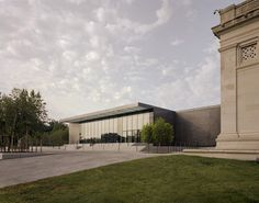 Saint Louis Art Museum by David Chipperfield Architects is home to one of the most comprehensive art collections in the US and is located in the Forest Park