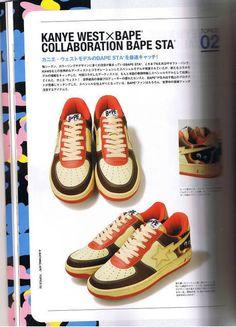 Bape, 90s Sneakers, Shoes Wallpaper, Nigo, Retro Aesthetic, Japanese Aesthetic, Lit Outfits, Hype Shoes, A Bathing Ape
