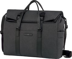 The roomy and practical Architecture Urban Rousseau Roll Top Bag by Victorinox features a spacious main compartment and zippered interior side pockets, as well as plenty of exterior pockets. Satchel Bags For Men, Mens Satchel, Roll Top, Victorinox Swiss Army, Urban, Tumi, Travel Accessories, Gym Bag, Purses
