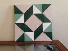Barn Quilt 10in by TeamStephensSigns on Etsy