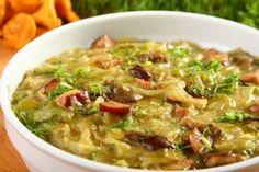 Zobacz, jak przygotować sprawdzony przepis na Zasmażana kapusta z grzybami. Wydrukuj lub pobierz PDF z przepisem. Cheeseburger Chowder, Meat, Chicken, Food, Recipes, Meals, Yemek, Buffalo Chicken, Eten